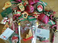 Fantastic Joblot of Christmas Decorations - Wholesale Shop Stock 10 item