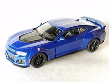 "New Kinsmart 5"" 2017 Chevrolet Camaro ZL1 Diecast Model Toy Car 1:38 Chevy -BLUE"