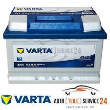 Varta batería de coche e11 12v 74ah batería de arranque 680a batería para seat suzuki VW