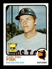 1973 Topps #193 CARLTON FISK EX+ *3s