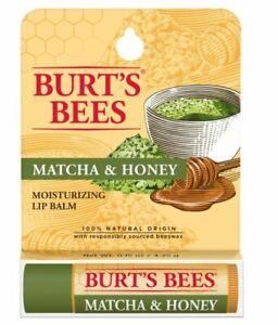 Burt's Bees Moisturizing Lip Balm Matcha & Honey 4.25g