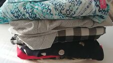 Lot of 7 Plus Size 26-28 assorted tops Avenue, George, Lane Bryant, Woman Within