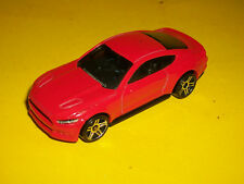 ## HOTWHEELS RED 2015 FORD MUSTANG GT MADE IN MALAYSIA