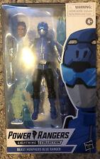 Hasbro Power Rangers Lightning Collection 6-Inch Beast Morphers Blue Ranger New