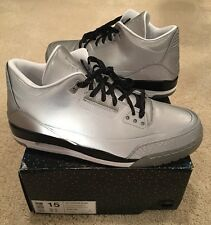 Nike Air Jordan Retro 3 III 5Lab3 Size 15 3M Reflective Silver New DS Sample