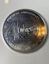 Nasa 40th Anniversary Commemorative Coin
