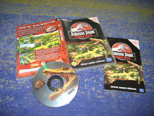 Jurassic park operation genesis PC VERSIONE ITALIANA RARO e RAR con manuale