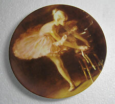 """Wedgwood """"Ballet Shoes"""" Bone China Plate  Passion Of Dance Collection"""