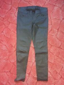 Jeans Lederoptik Gr. XL