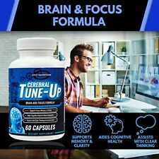 Brain Supplements & Nootropics - Memory Focus Mental Concentration Booster Pill