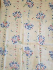 CRITERION Full Sz 4 Pc Sheet Set Floral Bouquets Victorian Shabby Chic Dan River