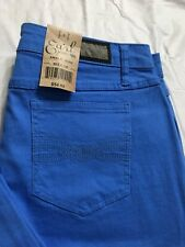 Earl Jeans Size 10 Ankle Length Periwinkle Rolled Cuffed Stretch NWT