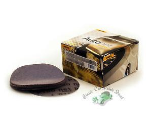 """Mirka Autonet 6"""" / 150mm Sanding Discs Variable Grit P80 - P800 etc. Dust Free"""