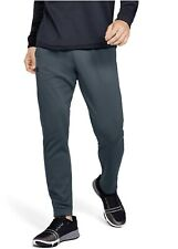 ✅ New Under Armour Inc Fleece Mens 3XL Wire Black Athletic Running Pants XxX
