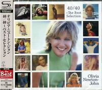 OLIVIA NEWTON-JOHN-40/40 THE BEST SELECTION-JAPAN 2 SHM-CD Ltd/Ed G25