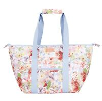 Joules Picnic Carrier (White Floral)