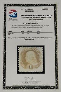 US Stamp #133 - Unused - PSE CERTIFIED - SCV $325