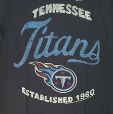 NEW MEN'S URBAN OUTFITTERS JUNK FOOD TENNESSEE TITANS TEE T SHIRT SIZE SMALL