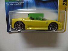 2006 Hot Wheels ,Ferrari F430 Spider, Yellow, New Models