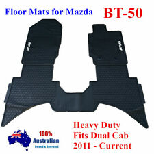 Heavy Duty Waterproof Floor Mats Tailored For Mazda BT50 Dual Cab 2011 - 2017