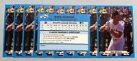 50) MARK McGWIRE Oakland A's 1988 Classic BLUE (TOUGH) Baseball Card #212 LOT