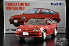 [TOMICA LIMITED VINTAGE NEO LV-N35e 1/64] HONDA BALLADE SPORTS CR-X Si 1985 Red