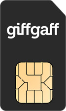 GIFFGAFF UK Roaming SIM card Triple SIM + £5 Free Credit + Fast Shipping