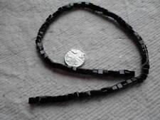 Perline VETRO CUBO Strand ~ 4mm ~ Nero