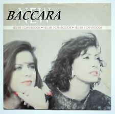 "NEW BACCARA-Yes Sir I can Boogie-versione 1990-RARE 12"" VINYL MAXI SINGLE"
