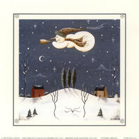 ART PRINT:LITHO:  WINTERS ARRIVAL  by DONNA ATKINS -  #TCD 2292    RAA109 D