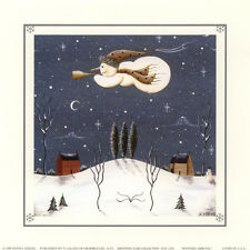ART PRINT:LITHO:  WINTERS ARRIVAL  by DONNA ATKINS -  #TCD 2292    RAA22 A