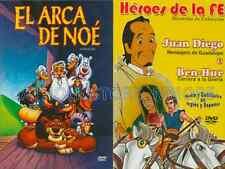 2 PACK El Arca De Noe & Juan Diego,Ben Hur New Dvd