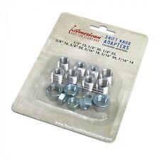 Standard Custom Gear Shifter Shift Knob Adapter Set 8 Piece M/T FORD GM MOPAR V8