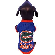 Ncaa Florida Gators Athletic Mesh Dog Jersey, Blue, Xl