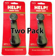 Pair of 2 Help 76970 Window Crank Handle for 78-81 Honda Accord Civic Prelude