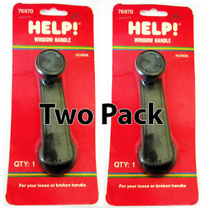 Pair of 2 Help 76970 Window Crank Handle for 78-83 Honda - Accord Civic Prelude