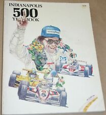 1983 HUNGNESS YEARBOOK INDY 500 INDIANAPOLIS 500 TOM SNEVA AL UNSER JR. BEDARD