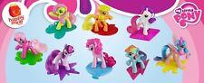 My Little Pony FIM 2011 Happy Meal Toys Set 8 SEALED Dolls Figure MIB McDonald's