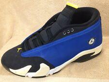 Nike Air Jordan 14 XIV Retro Low Laney Retro Blue Black 807511-405 Mens 11 Shoes