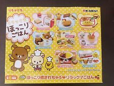 RE-MENT Rare Full Rilakkuma Relaxing Home Meals, 1:6 Barbie kitchen food mini