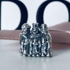 PANDORA Silver & 14ct Gold Three Wise Men Kings Christmas Charm 791233 NEW