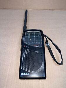 omega 4998 multi band radio pb air cb tv1 fm vintage