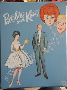 Mattel VINTAGE Barbie & Ken, case, clothing & accessories  Lot 1