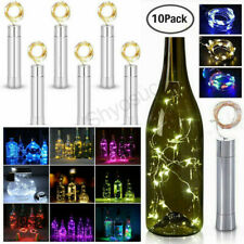 2M 20 LED Xmas Bottle Lights Cork Shape Lights Wine Bottle Starry String Lights
