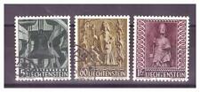 LIECHTENSTEIN .   N° 350/352. 3 VALEURS     OBLITEREES     .SUPERBE .