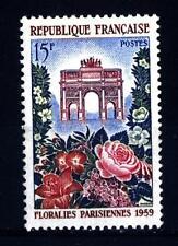 FRANCE - FRANCIA - 1959 - Mostra floreale a Parigi