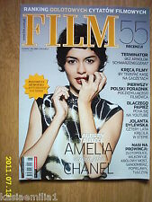 AUDREY TAUTOU on front cover Film 6/09 Polish magaz.