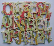 Bo Bunny *ANNA SOPHiA* Chipboard Letters *NEW*