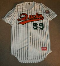 Long Island Ducks Rawlings AUTHENTIC Baseball Jersey Sz 38 #59