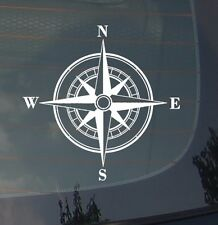 Rose Compass Sticker Decal Vinyl Off Road Sailing Boating Mud 4x4 Buggy 3.7""